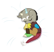 Sleeping Discord by punzil504