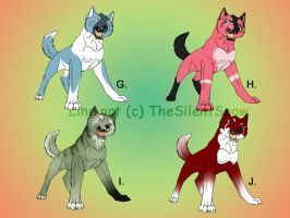 ADOPTED Ginga Wolves 3 by Yazora