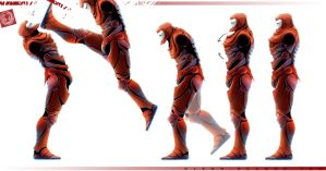 Iron Man Range of Motion by DenjinPrime