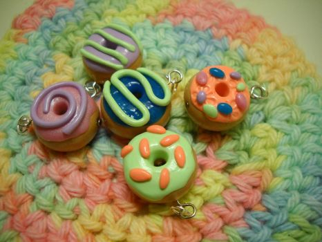 Donut Charms by Fuffley