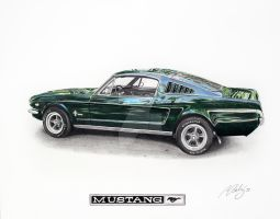 Ford Mustang 65 by Mipo-Design