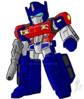 SD WW Optimus Prime by GuyverC
