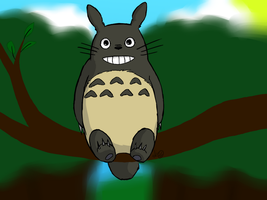 Totoro by SunnySerpentSpring