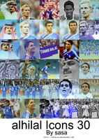 Alhilal Icons by sasa-92