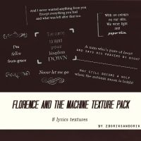 Florence+The Machine texture pack by zdorik-sandorik