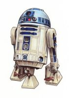 Star Wars:Rebel Force art R2D2 by Randy-Martinez