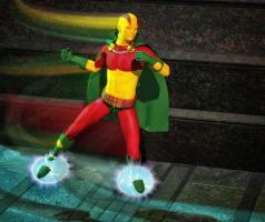 Mr. Miracle 2nd skin textures for M4 by hiram67