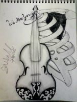 Violin Rib cage by ColoredCodedRainbow