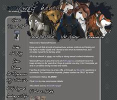 Werewolf Haven site by TheBuzzSaw