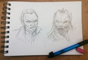 Rahab Sketches by sinDRAWS