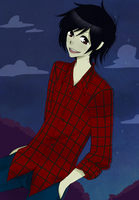 Adventure Time : Marshall Lee by EmilyHime