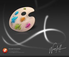 Paint Icon by dellustrations