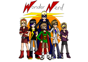 The WonderNerd cast by EVIE128