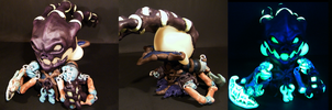 League of Legends Thresh Glow in the Dark Munny by tripled153