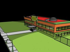 Skool withaod a background by the-kender