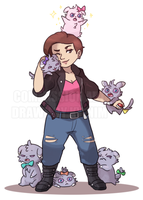 Commission: The Espurr Punk