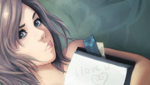 Ashe Loves You - PSP Wallpaper by Gravija-Sunrise