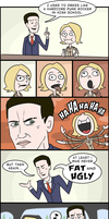 Deadly Premonition Comix by Blade-zulah