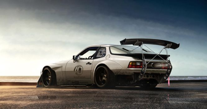Porsche 944 wide body by aNqUi