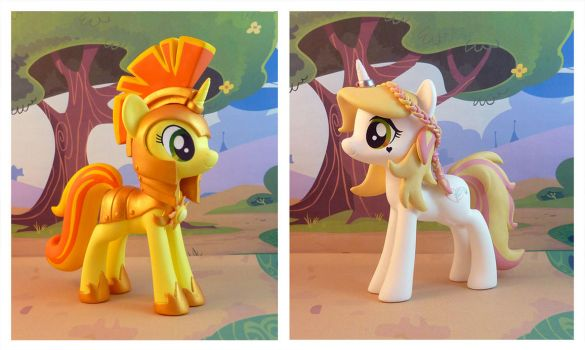 Sunny Day and Crystal Wishes by krowzivitch