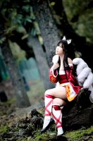 Ahri ~ inspired by nature.. by AEimAginE
