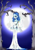 Emily, the corpse bride by Tenshidream