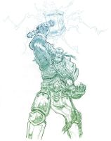 Thrall Sketch by ProSoul