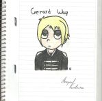 Gerard Way by FamilyGayFanGirl