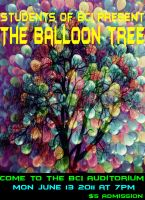 balloon tree poster by andyrewr