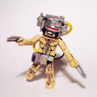 Weapon X Wolverine Custom Minimate by luke314pi