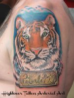 Peterbuilt Pride, Tiger Arm Piece by HightowerTattoos