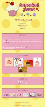 The Cupcake CSS Journal by BaB-Jane