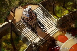 Thin Lines ~ Staircase by Maheby