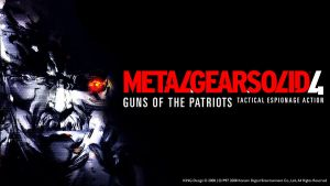 Metal Gear Solid 4 GOTP by KINGodfather