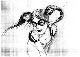harley qeen by LucaStrati