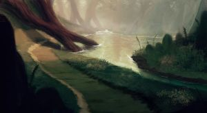 Forest River_WIP 1 by Seth-D-Forbes