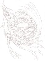 Pisces dragon-Unfinished by Eppon