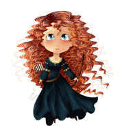 Merida by MissElysium