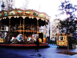 Le merry-go-round by juliawallin