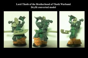 Lord Thoth dry fit by Anararion