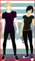 Katniss and Peeta by jellybean5898