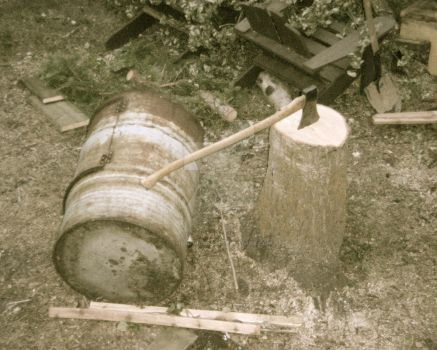 Axe and Barrel by Thelonious23