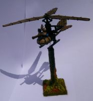 Dwarf Gyrocopter by Teuril