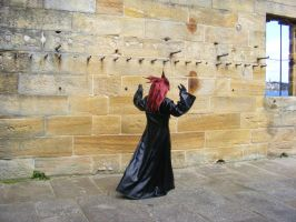 Axel Storming around the castle by Fireflyhikari