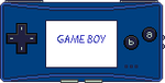 Game Boy Micro [blue] by BLUEamnesiac