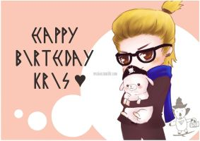 Happy Birthday Kris by eli-star
