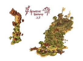 Archipelago Cayman- pirate adventure-strategy land by headconc
