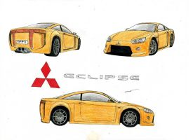 0901 - 06-01 - Mitsubishi Eclipse Concept by TwistedMethodDan