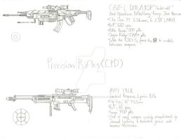 ThroughNineEyes Concepts: CPD Precision Rifles by Primogenitor34