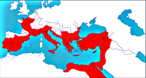 Roman Empire in 460 by woodsman2b